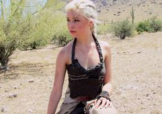 Daenerys cosplay Red Waste - Stock by Mirish.deviantart.com on @deviantART. She actually really looks like her!