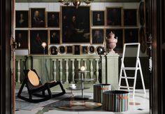 nook stockholm - Google Search Scandinavian Furniture, Contemporary Furniture, Scandinavian Design, Stockholm Restaurant, Modern Decor, Modern Design, Design Design, Tube Acier, Interior Design Process