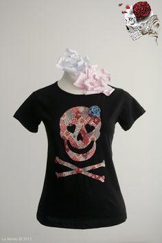 8d6c093961 Camiseta Caveira Sweet Home Alabama . Aplicação em tecido Modelagens   camiseta básica e Babylook .