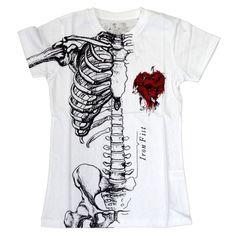 Iron Fist - Wishbone II White Girls T-Shirt