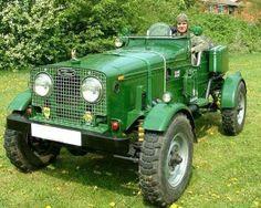Defender-tractor. Defentor.