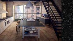 Urban kitchen Urban Kitchen, Corner Desk, Furniture, Ideas, Home Decor, Corner Table, Decoration Home, Room Decor, Home Furnishings