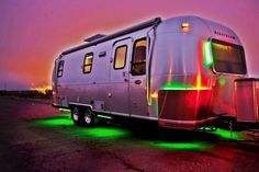 ECO AIRSTREAM...Full-time living off the grid in a renovated Airstream. Photos by Y Studio Photography