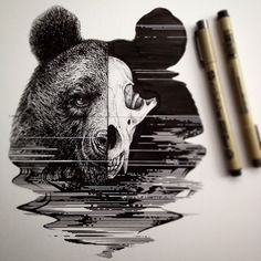 Bear tattoo idea