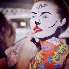 Makeup inspiration - credit Karla Powell