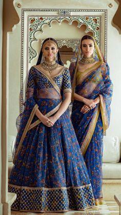 Sabyasachi Spring Couture The Udaipur Collection. Jewellery by Kishandas For Sabyasachi. Photograph by Tarun Khiwal. Indian Lehenga, Bridal Lehenga Choli, Wedding Sarees, Pakistani, Indian Wedding Outfits, Bridal Outfits, Indian Outfits, Indian Weddings, Real Weddings