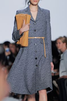 From the Michel Kors Spring 2014 runway show. Photo: ImaxTree.