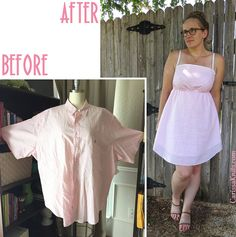 Gingham Sundress - Before & After