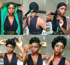 7 Headwrap Styles In Easy Steps To Take You Through This Week!