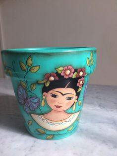Maceta Frida Kahlo