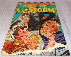 Dc Silver Comic Book PT Boat Skipper Capt Storm No 13 FN.........9.95