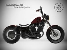 Virago Bobber, Virago 535, Bobber Chopper, Scrambler, Brat Cafe, Ride Or Die, Kustom, Cars And Motorcycles, Vehicles