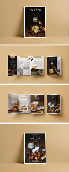 Confiteria artesana, panadería en León, España. Diseño de logotipo y folletos. Polaroid Film, Branding, Vestidos, Studio Apartment Design, Sweet Dreams, Brochures, Design Logos, Design Web, Business