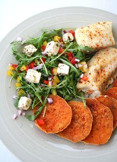 lindastuhaug - lidenskap for sunn mat og trening Indian Food Recipes, Healthy Recipes, Healthy Food, Frisk, Food And Drink, Lunch, Asian, Chicken, Meat