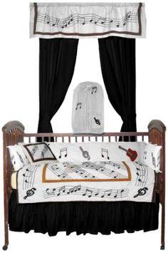 Patch Magic Music Crib Bedding