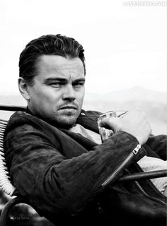 Leonardo Dicaprio. I love him in his older movies (especially What's Eating Gilbert Grape and  Titanic) but recently I'm getting really tired of him. I hate the roles he's been choosing in recent years. That's mostly why...and I'm just kinda tired of not being able to go see a movie without seeing his face in every commercial.