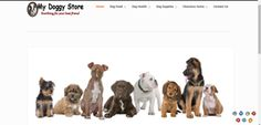 My Doggy Store web s