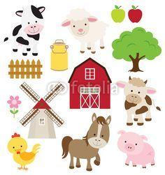 los animales de granja