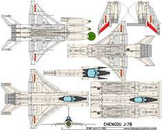 4D model template of Chengdu J-7B Fishbed. #4dpa, #ChengduJ7BFishbed. Paper Airplane Models, Model Airplanes, Paper Models, Paper Planes, 3d Paper, Paper Toys, Iai Kfir, War Jet, Paper Aircraft