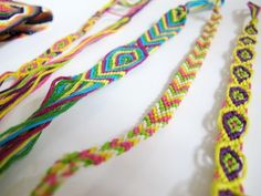 friendship-bracelet-diy. This website makes it so easy to follow along and make a really cool friendship bracelet.