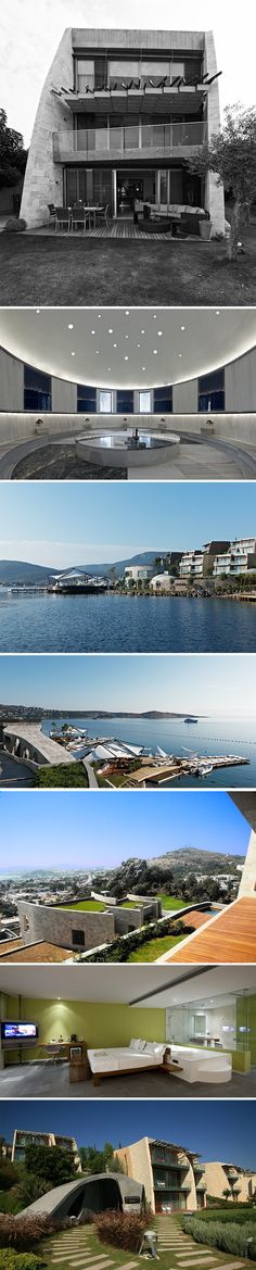 The KUUM Hotel and residences are the first to bring an innovative concept for the boutique lifestyle and resorts to the Bodrum area. Marina Bay Sands, Resorts, Spa, Concept, Boutique, Lifestyle, Architecture, Building, Travel