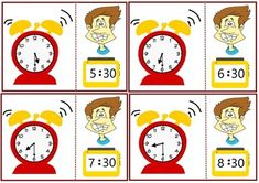 Telling time worksheets.