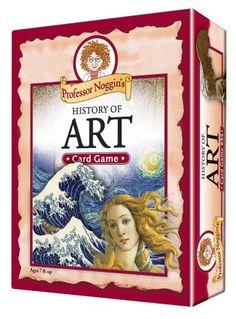 Educational Trivia Card Game - Professor Noggin's History of Art Professor Noggin http://www.amazon.com/dp/B002JP9GZY/ref=cm_sw_r_pi_dp_-MGEub151YSJF