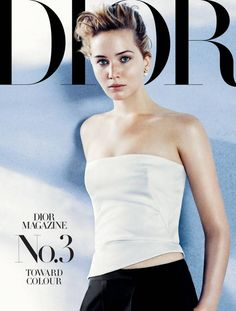 Jennifer Lawrence, muse androgyne pour Dior Magazine - Konbini