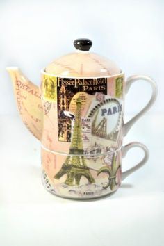 Paris Postale Tea For One Collectible Designer Teaset-French Giftlink Tea Set,http://www.amazon.com/dp/B00B62CMDY/ref=cm_sw_r_pi_dp_3zv6sb0XTNMZGDDD