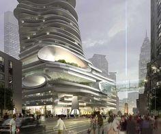Organic Architecture  by Ma Yansong