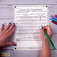strategies for kids and teens with ADHD! Help students find success in the classroom with organi Homework Planner, Learned Helplessness, Behavior Management Strategies, Preschool Special Education, Gifted Education, Organization Skills, School Organization, Behavior Plans, Elementary School Counseling