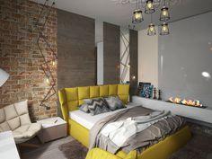Спальня Лофт - Галерея 3ddd.ru