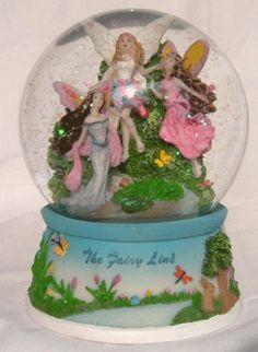 Fairy Dust Forest Snow Globe
