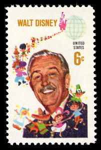 Walt Disney stamp that was released on the very day I was born, 9-11-68!