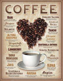 Heart Coffee Sign $28