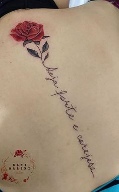 As 120 melhores Tatuagens Escritas para você se inspirar! | TopTatuagens Word Tattoos, Cute Tattoos, Flower Tattoos, Body Art Tattoos, Print Tattoos, Piercing Tattoo, I Tattoo, Mujeres Tattoo, Rose Tat