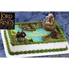 Lord of the Rings Gollum Cake Topper