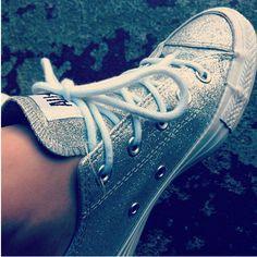 #Glitter #Converse on @Josie George
