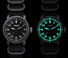 Lum-Tec Combat may sound like a fictional gun from a James Cameron movie but it's a watch. Before you're disappointed, have a look--all their watches feature a luminescence technology that blows Indiglo out of the water. Best Watches For Men, Cool Watches, Men's Watches, Diamond Watches, Dream Watches, Luxury Watches, James Cameron Movies, Affordable Watches, Automatic Watch