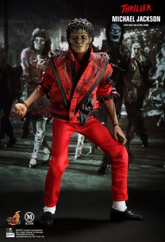 Hot Toys : - Michael Jackson (Thriller version) 1/6th scale collectible figure