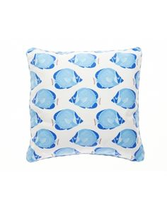Tropical Fish Decorative Pillow