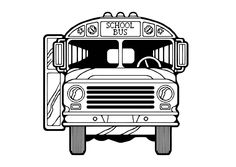 cool coloring page school Free Download