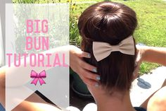 I like big BUNS and I cannot lie! And I know you do too! Watch this quick little video and see how to get you're very own, VERY EASY, big bun with only a few tools and a lot of feriocity. Enjoy!