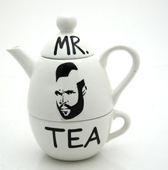 Haha this reminds me of Mr. Tea in our household....guess had to come up with a superhero  to make the tea every night....lol