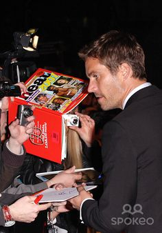Paul at FF4 London Premiere March 2009