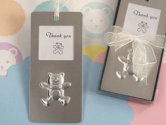 Mark It With Memories Bookmark Collection Teddy Bear Design