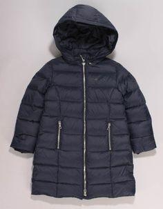 Armani Junior Navy Down Puffa Jacket Bonfire Night, Winter Essentials, Kids Coats, Junior Outfits, Zip Ups, Winter Jackets, Girls, Boys, Navy