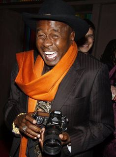 Birthday edition: today's über-cool, über-suave celebrity with an über-cool camera: BEN VEREEN (and his Nikon).  Happy 66th, Ben!