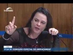 Janaina Paschoal enraivecida racha Lindbergh no meio na Comissão de Impe...