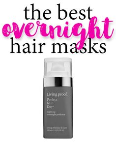 Amazing overnight masks to help with super dry, straw hair! #ad